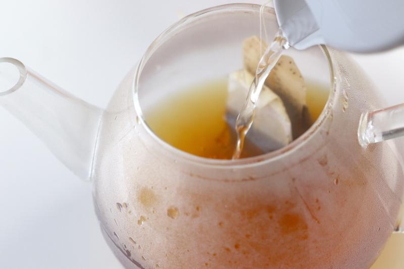 タピオカ入りオレンジアイスティーの作り方1