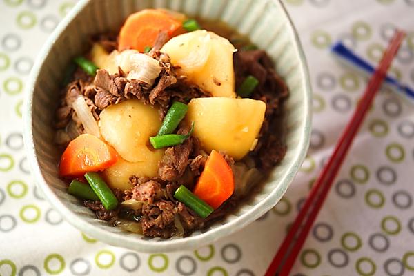 肉ジャガ(しっかり味)