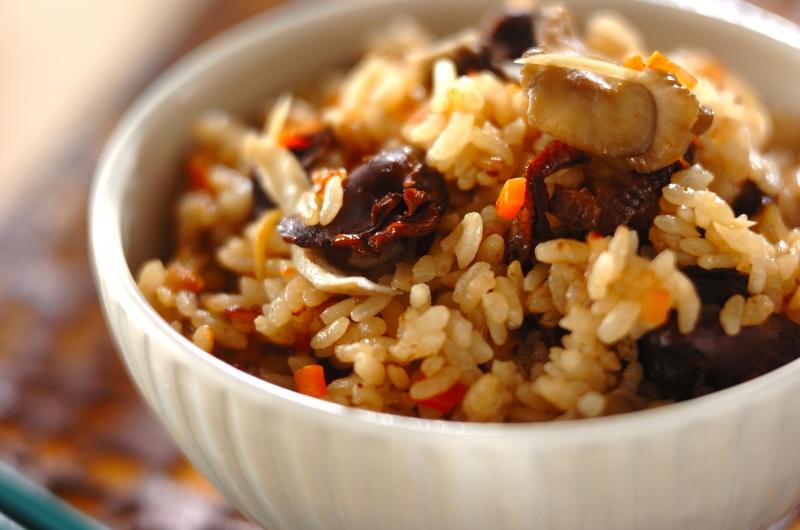 味付け赤貝の炊き込みご飯の作り方の手順