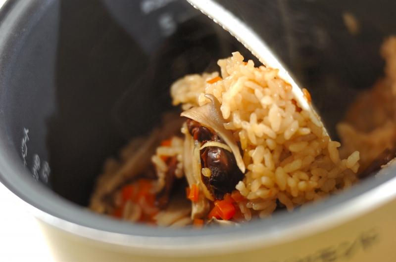 味付け赤貝の炊き込みご飯の作り方の手順3
