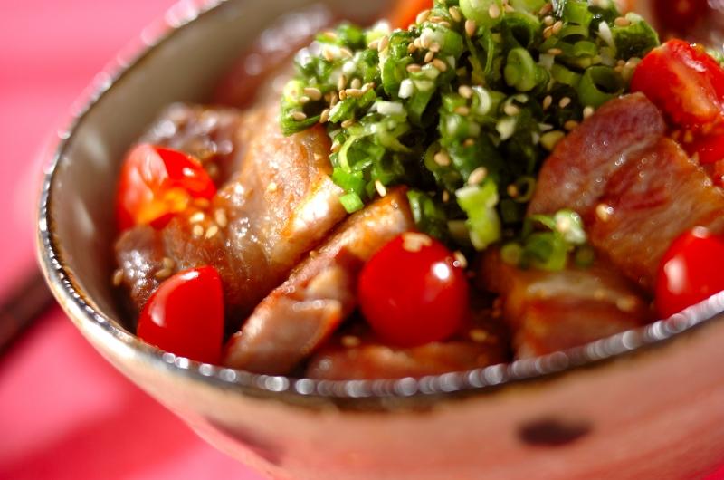 塩豚丼(前日準備有り)