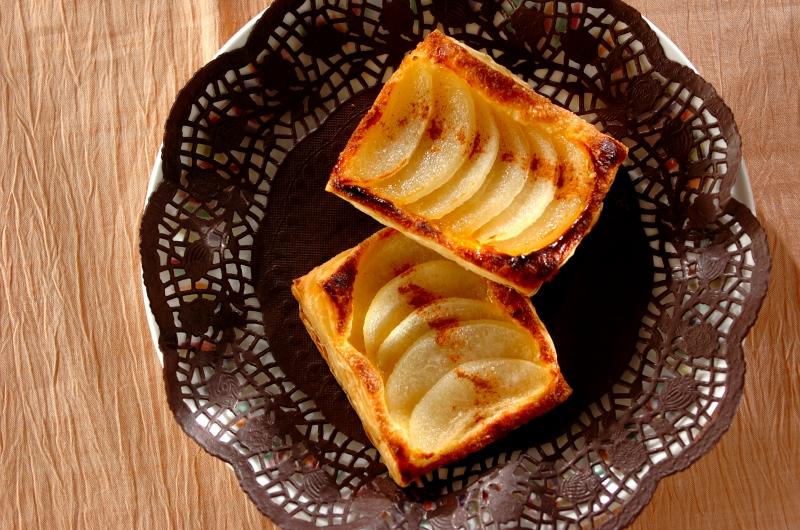 冷凍パイシートで簡単!梨パイ