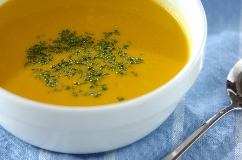 こっくり甘い!カボチャのポタージュスープ