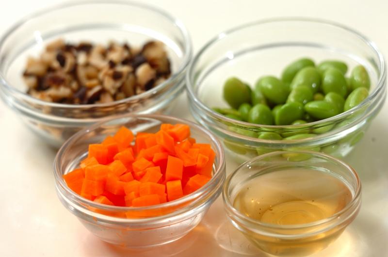 野菜たっぷりつくねの作り方の手順1