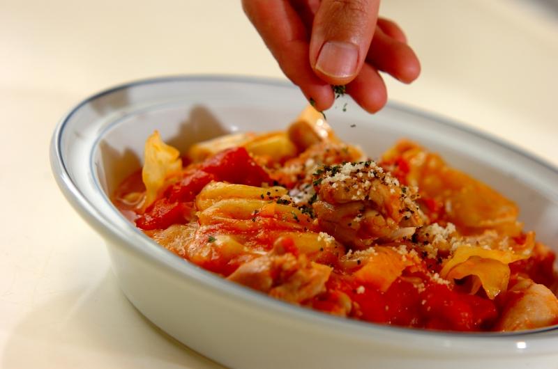 鶏とキャベツのシチューの作り方の手順7