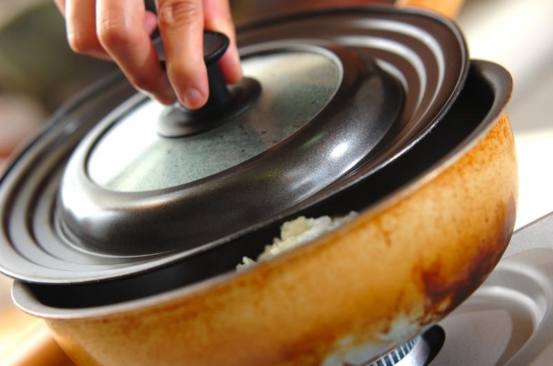 アサリのガーリック白ワイン蒸しの作り方の手順2