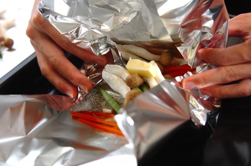 魚のホイルバター焼きの作り方の手順9