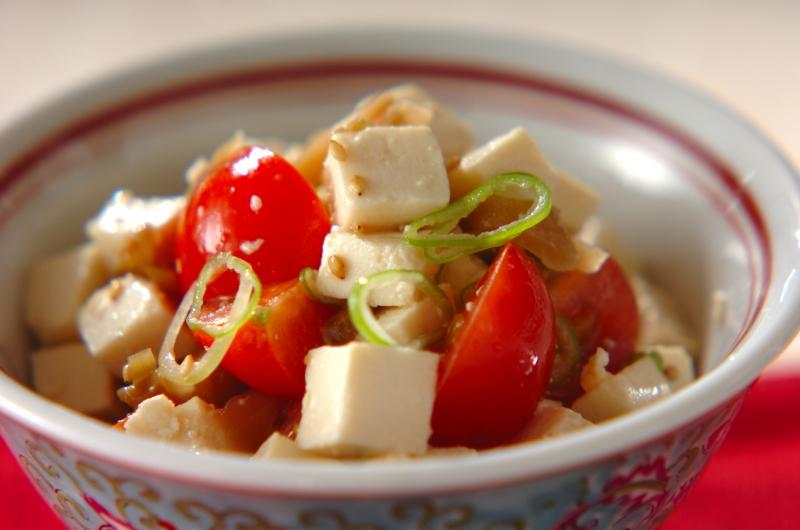 豆腐とザーサイの和え物