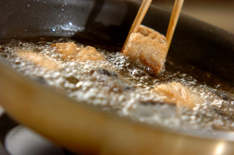 サワラの南蛮漬けの作り方の手順6