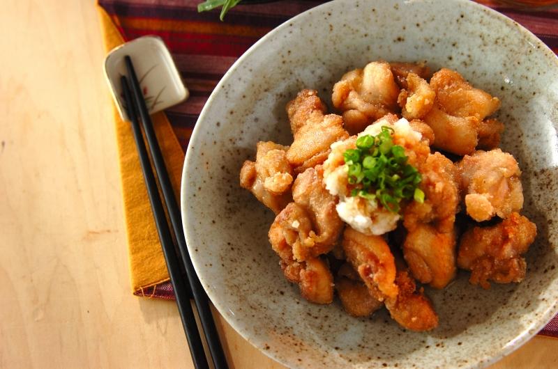 さわやかおろしポン酢でいただく鶏のサクッと竜田揚げ