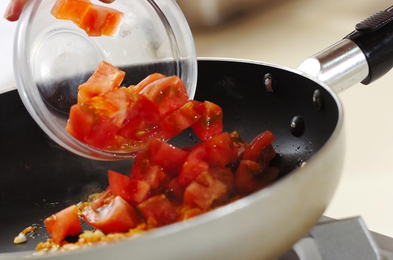 エビと豆腐のチリソースの献立の作り方の手順6