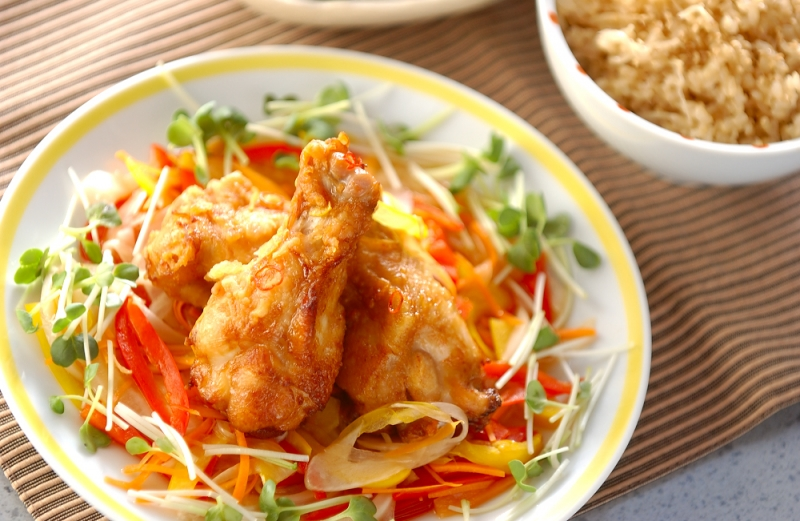 鶏肉の南蛮漬けの作り方の手順