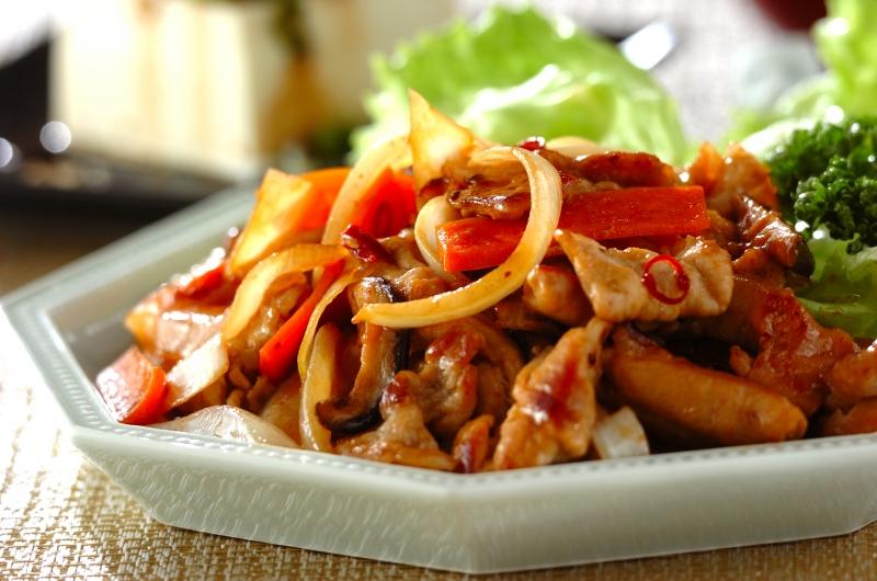 豚肉の甘辛炒めの作り方の手順