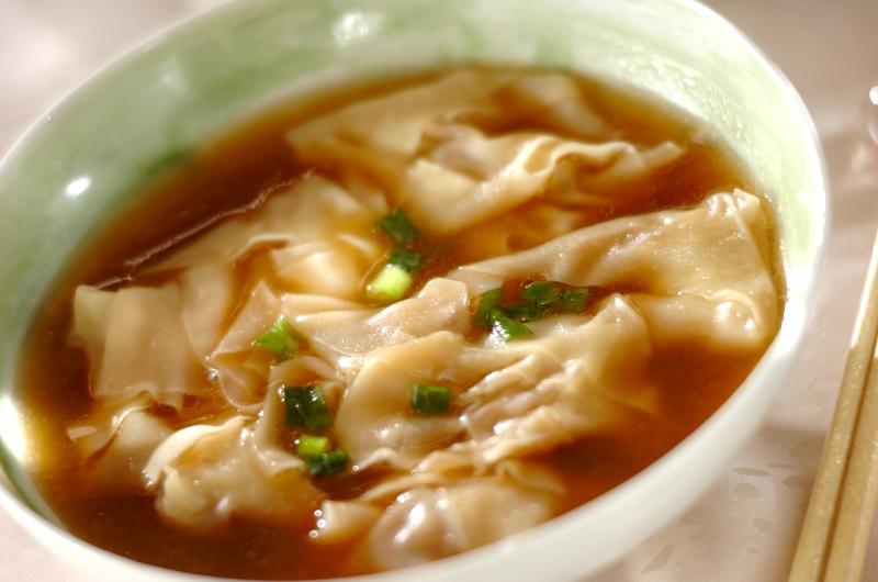 ワンタン スープ レシピ 極上鶏ガラスープでつくる