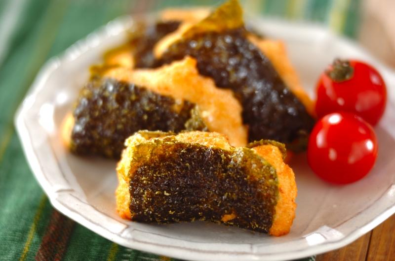 チーズ入り大和芋の磯辺揚げの作り方の手順