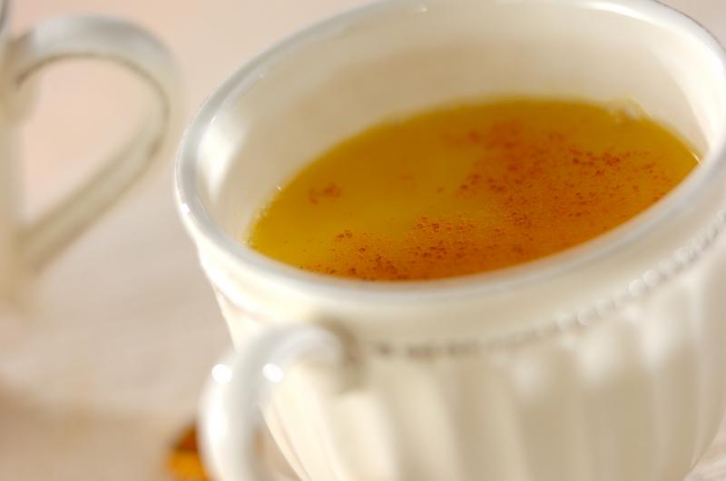 ホットオレンジジュースの作り方の手順