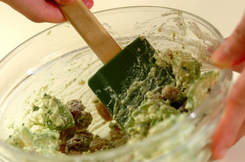 アボカドとビーンズのサラダの作り方の手順3