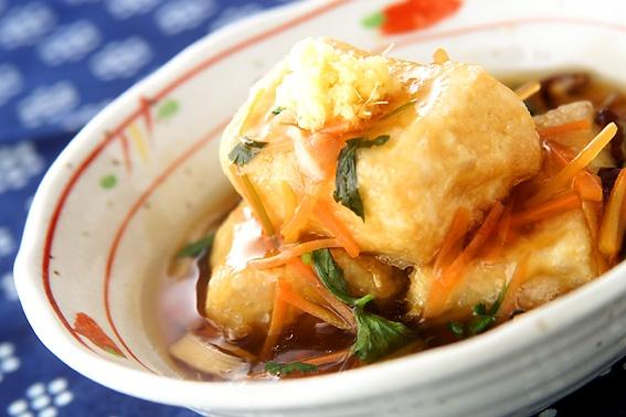 揚げ 出し 豆腐 あんかけ あんかけ揚げ豆腐(副菜) レシピ・作り方