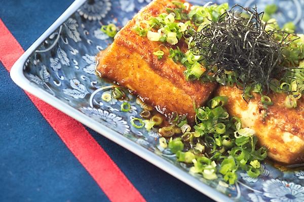 豆腐ステーキ・カレー味