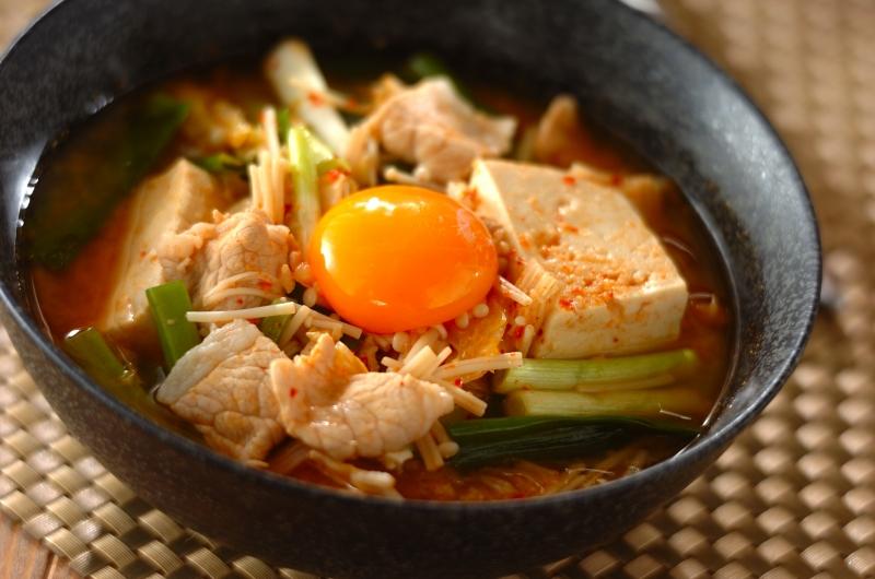丸ごと豆腐チゲ