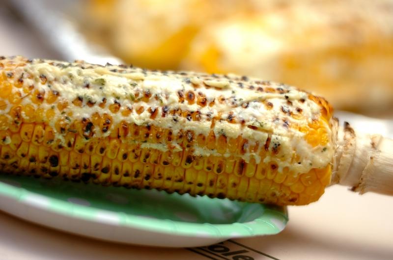焼きトウモロコシのマヨチーズディップ
