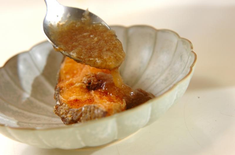 カラスガレイのレンコンあんかけの作り方の手順4