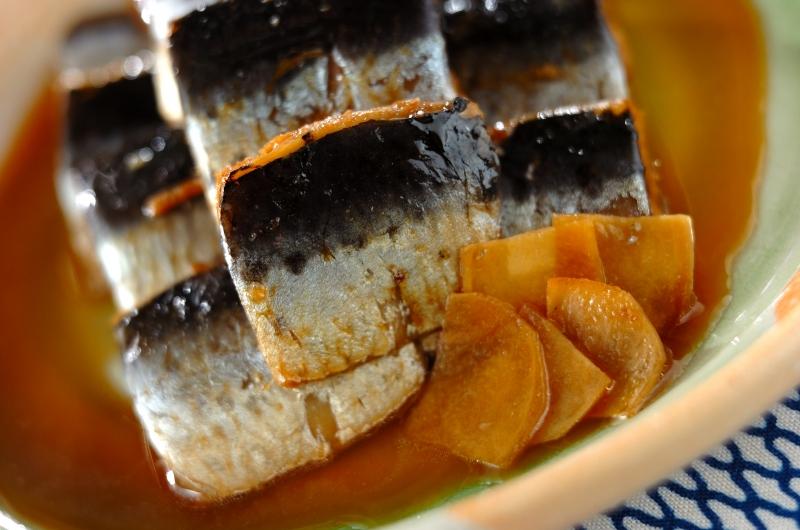 和食の定番 イワシのショウガ煮の作り方の手順