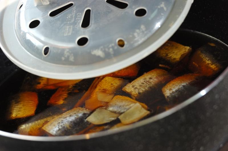 和食の定番 イワシのショウガ煮の作り方の手順3