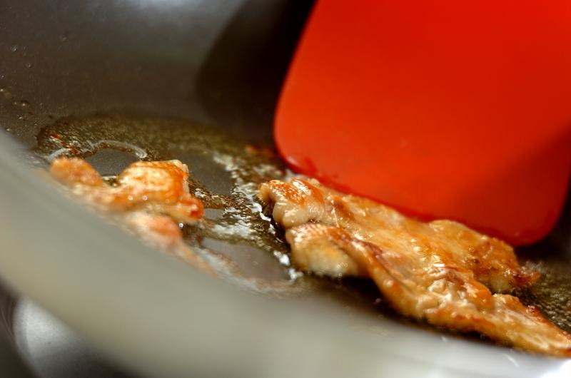 砂肝とピーマンの鶏油炒めの作り方1