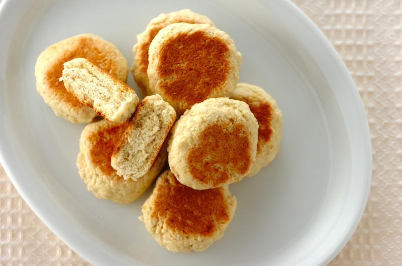 ホットケーキミックスで作るフライパンスコーン