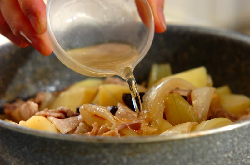 塩肉ジャガの作り方の手順5