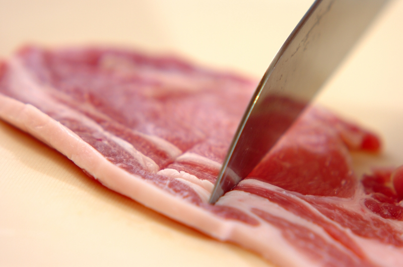 しっかり味の豚のショウガ焼きの作り方の手順1