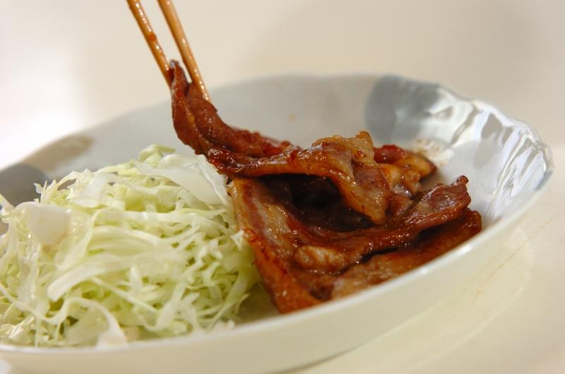 しっかり味の豚のショウガ焼きの作り方の手順6
