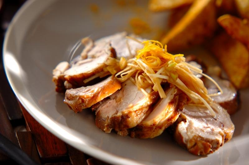 【紅茶鶏】鶏もも肉の紅茶煮
