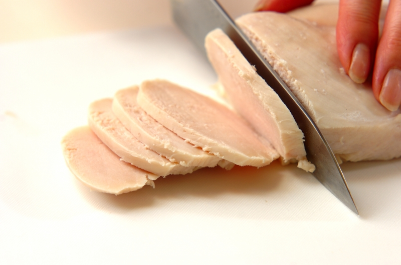 鶏ハムと里芋ピューレの作り方の手順6
