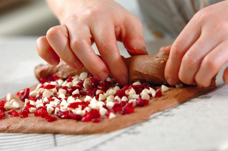 ハートのホワイトショコラベリーの作り方の手順5