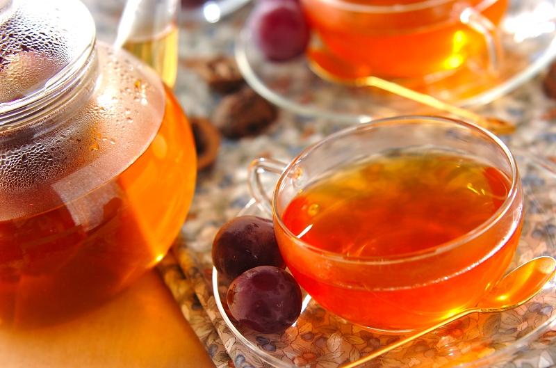 ブドウの贅沢フルーツティー