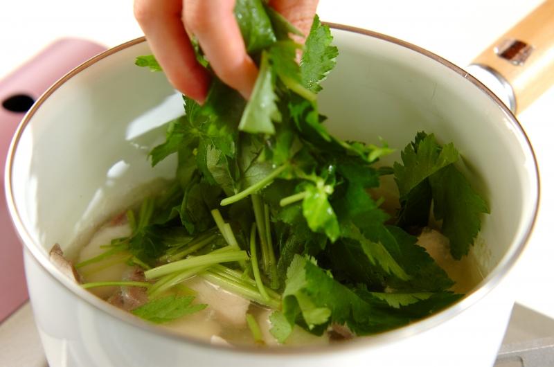 ブリと大根のサッパリ煮の献立の作り方の手順4