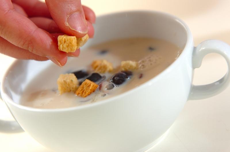 黒豆入りスープの作り方の手順3